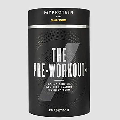 MyProtein Pro Phasetech Pre Workout+ Sports Supplement 20 Serving (360g) - Sour Gummy, 1 Units by MyProtein