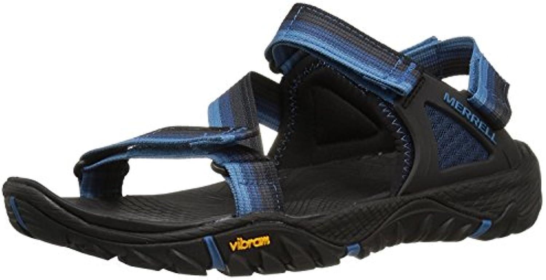 Merrell Men's All Out Blaze Web Hiking Shoe, Ebany, 48 D(M) EU/12.5 D(M) UK
