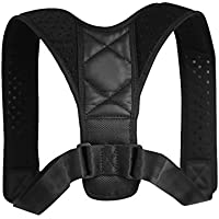 DEBAIJIA Unisex Haltungskorrektur Geradehalter verstellbare Größe Schulter Rücken Haltungsbandage Rückenbandage... preisvergleich bei billige-tabletten.eu
