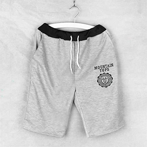 Justierbare dauerhafte Material-Männer Baumwollkurzschluß-Hosen-Gymnastik-Hose-Sport-Jogging-Hose Stretchy und bequem zu tragen