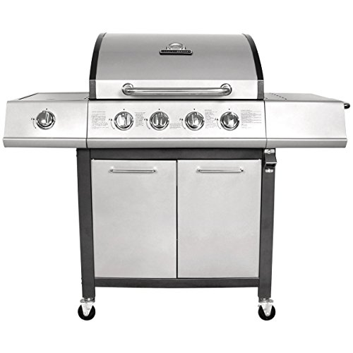 BENTLEY 5 BURNER PREMIUM GAS BBQ STEEL BARBECUE