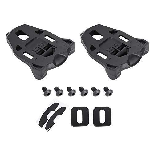 Aeloa Kunststoff-Griff-Straßenklammer, Rennrad, Fahrradklampe - Anti-Rutsch-Straßenrad Klampe für Fahrten, 1 Paar/Set (schwarz)