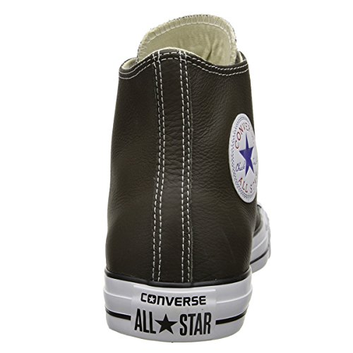 Converse Chuck Taylor All Star Core Lea Hi, Baskets mode mixte adulte Olive