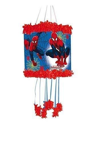Spiderman Pull-string Pinjata / Pinata Partyspiel Spielzeug - Füllventil With Süßigkeiten