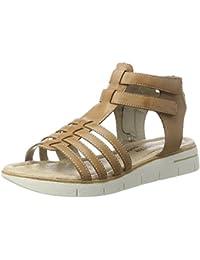 Womens D3959 Gladiator Sandals, Brown, 4 UK Remonte