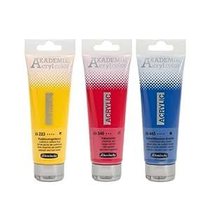 Schmincke 120ml AKADEMIE Acryl color Phthalogruen Acryl 23 551 012