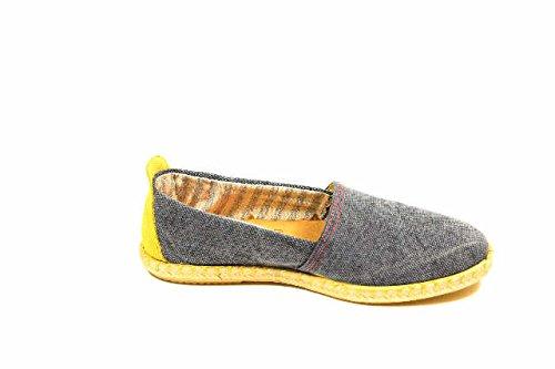 Unbekannt  Stiefelette, Chaussures de ville à lacets pour femme Marron - Taupe
