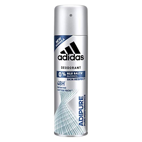 Adidas Adipure Desodorante Hombre - Paquete 4, 200
