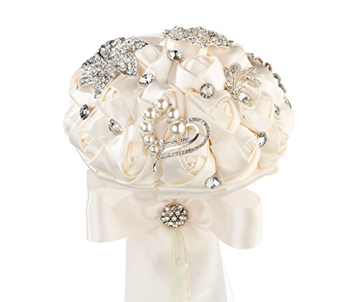 Lillian Rose Crystal Flower Bouquet, 7\