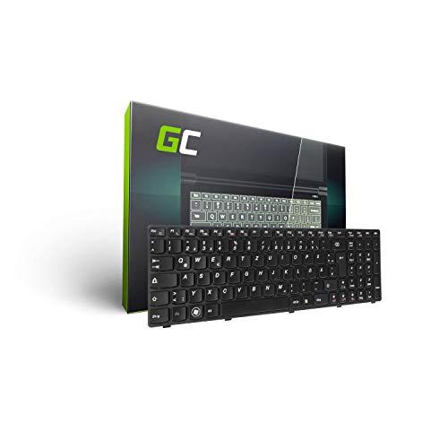 Green Cell® Laptop Tastatur für Lenovo IdeaPad B570 B575 B580 B590 Z570 Z575 V570 V575 (Tastenbelegung: DE QWERTZ | Farbe : Schwarz) Lenovo-laptop-tastatur