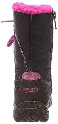 Superfit Fairy, Bottes de neige de hauteur moyenne, doublure chaude fille Noir - Schwarz (SCHWARZ KOMBI 02)