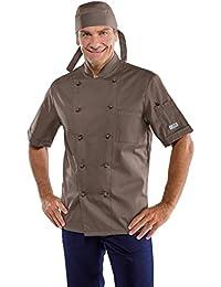 Isacco - Veste de pâtissier à manches courtes
