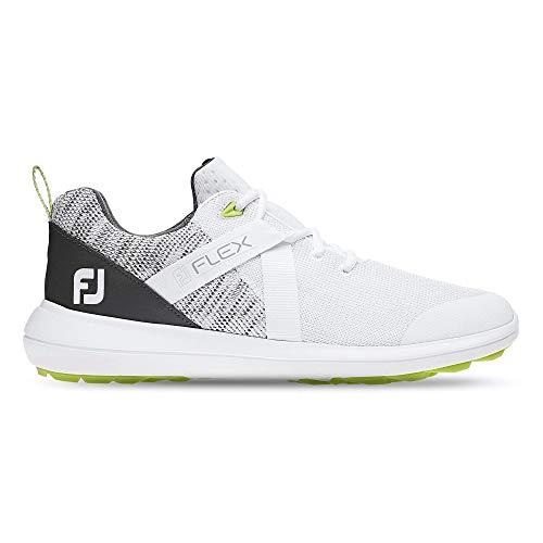 Foot Joy Fj Raven SL, Chaussures de Golf Homme, Blanc...