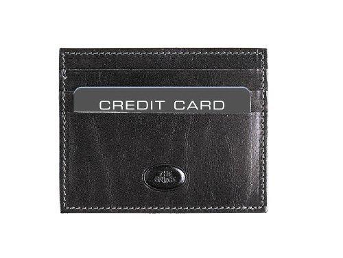 b2fe9042bc The Bridge Porta carte di credito 01221101-20 Nero