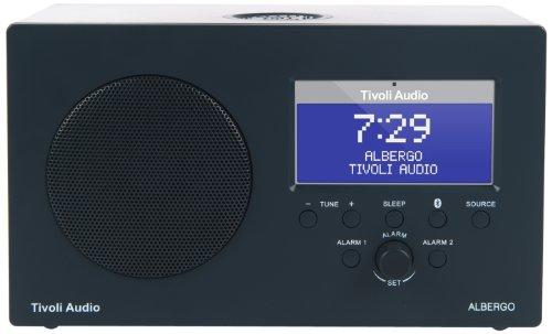 Tivoli Albergo Bluetooth UKW-/MW-Radiowecker in Graphit