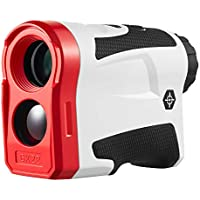 BIJIA 6x22 600m USB Rechargeable Monocular Golf Rangefinder with Flag Lock and Slope Distance Correction Mode,Vibration and Instantaneous Measurement