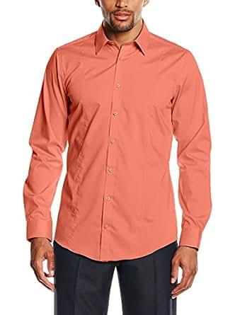 Venti camicia classiche uomo arancione pesca amazon for Amazon offerte abbigliamento