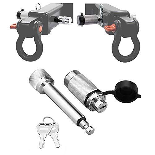 AUTOECHO Anhänger Hitch Lock Universal Hantel Typ Anhänger Hitch Locking Pin Anhängevorrichtung Receiver Lock Diebstahlsicherung Hitch Pin Verkehrsausrüstung -