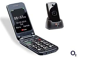 TTfone Venus 2 O2 Pay As You Go Big Button Flip Bluetooth Mobile Phone with Dual Screen SOS Button