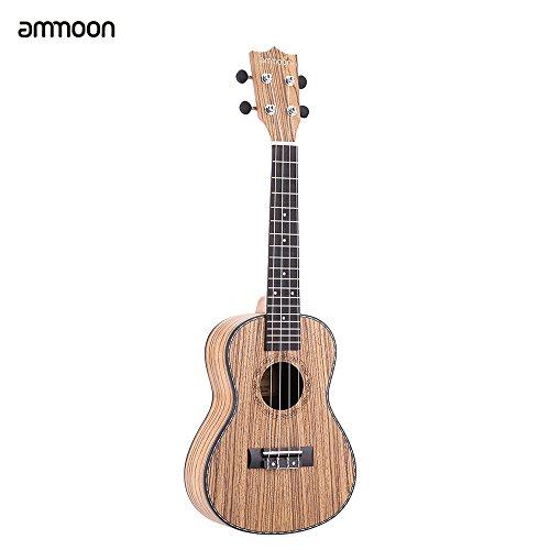 ammoon-24-ukulele-4-saiten-zebrawood-rat-rosewood-fretboard-ox-os-sattel-musical-instrument-geschenk