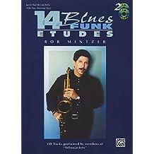14 Blues & Funk Etudes (Eb inst/CDs) --- Jazz Band :  Instrument Mib - Mintzer, Bob --- Alfred Publishing