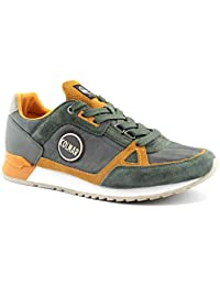 Colmar Supcol dk Green Orange Green Orange Shoes Sneakers Man Laces 0198d43e096