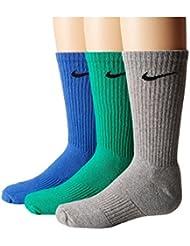 Nike Y Nk Perf Cush Crew 3Pr Calcetines, Niños, Multicolor, M