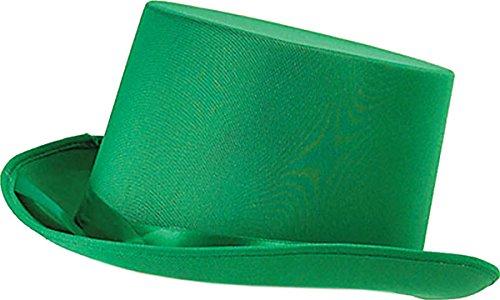 Erwachsene Unisex Junggesellinnenabschied Kostüm Party Club Kleidung Zubehör Promi Zylinder - Grün, Einheitsgröße, (Für Erwachsene Unisex Kostüm)