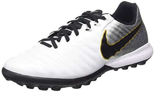 best service 6b905 62b74 Nike Lunar Legend 7 Pro TF, Chaussures de Football Mixte Adulte, Blanc/Noir
