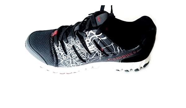 f67bafd12e9 Campus Race 3G-475 Dark Grey RED Men Running Shoe 6 UK: Buy Online ...
