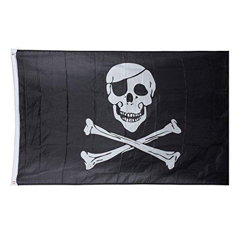 Preisvergleich Produktbild Generic qy-uk4–16 feb-20–3720 * 1 * * 5735 * * Roger Große Banner crossbo Flagge Pirat Jolly Totenkopf C Skull TE Flagge 3 ft 150 x 90 cm 50 x 90 Ösen,  5 x 5 x 3 ft 150 x 90 cm