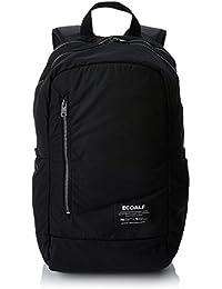 Ecoalf Makalu Backpack, Mochila Unisex Adulto, Negro (Black), 18x45x27 cm (W x H x L)