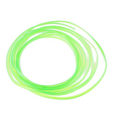Sedeta® 5 Meters Decoration Strip DIY Automobile line Car motor Interior Exterior Decoration Moulding Trim Strip Sticker for SUV trucks Green (Color : Green, Size : -) -