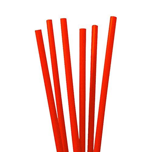 tib 10061 Strohhalme Set 135 Stück pro Beutel, Farbe rot, One Size
