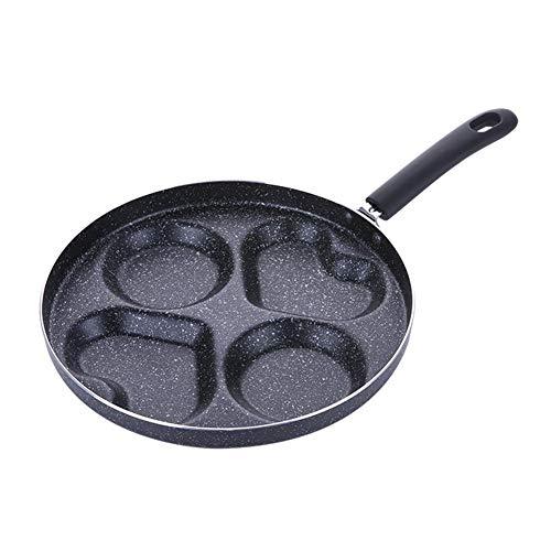 Oddity 28CM Omelettpfannen Bratpfannen Antihaftpfanne Omeletthersteller Multifunktions-Love-Shaped Omelett-Topf-Spezialgeschirr