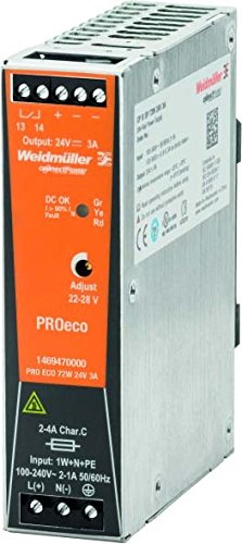 Weidmuller 1469470000 – alimentation Pro Eco 72 W 24 V 3 A