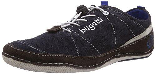 Bugatti - F24053, Sneaker basse Uomo Blu (Blau (d/blau  d/braun 429))