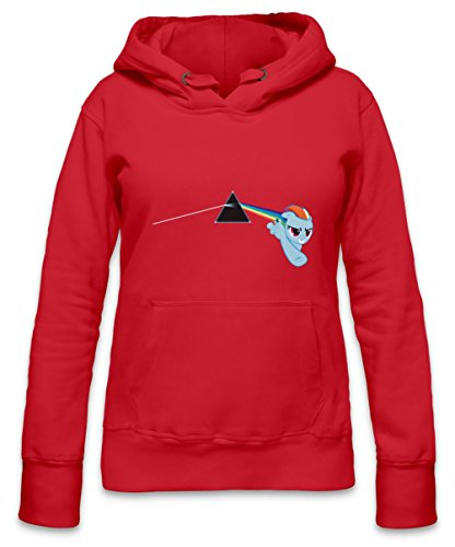 Rainbow Dash Womens Hoodie X-Large