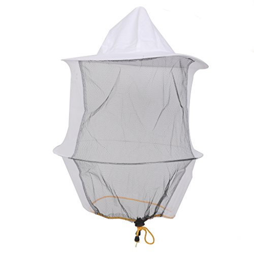 Chapeau Protecteur Anti Moustique Anti Abeille Protection de Visage pour Apiculture