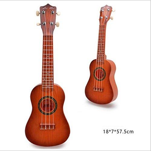 Cuerdas Del Guitarra Fan Los Simulación Pvxgio Instrumento La Imitables Maderagrano Las Molto Niños Ukulele De dQCtshr