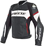 GIACCA DAINESE RACING 3 D-AIR (48 - BLACK-WHITE-LAVA RED)