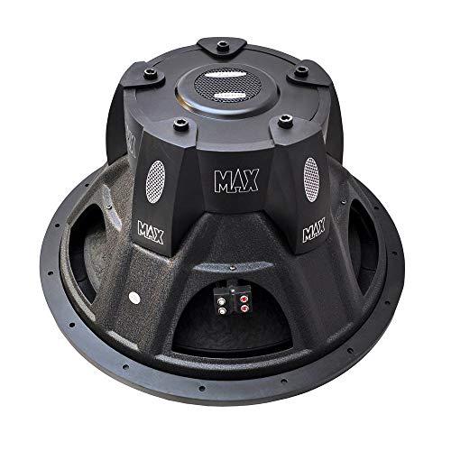 Pyle Max Pro Dual Subwoofer (38,1 cm (15 Zoll), 2000 Watt, Kleingehäuse, 4Ohm) (Subwoofer Zoll Pyle 15)