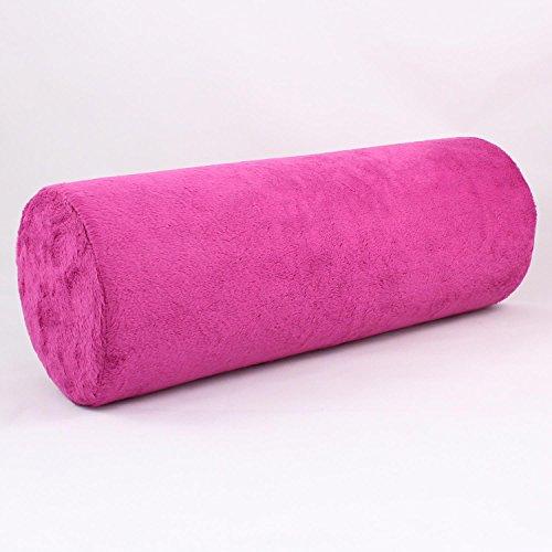 Gesundheitskissen Nackenrolle mit viscoelastischem Spezialschaum pink (Schaum Ferse)