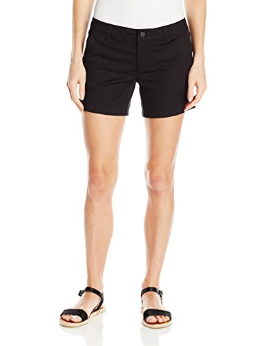 Volcom Damen Frochickie Midi Short Schwarz Kurze Hose, Black, 28 (Frauen Skate-shorts)
