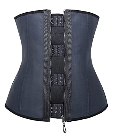Kiwi-rata Femme corset minceur latex serre taille Sérrée bustier Ventre Ceinture Amincissant