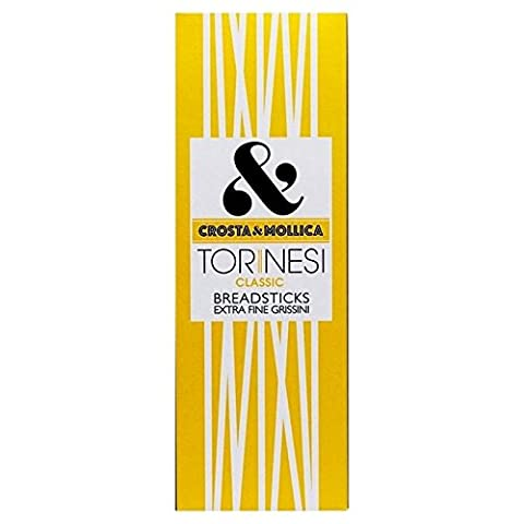 Crosta & Mollica Thin Torinesi Breadsticks 120g - Pack of 6