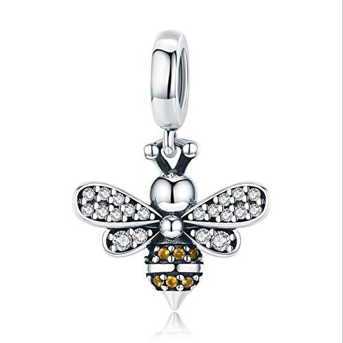 us 925Er Sterlingsilber Biene Styling-Zubehör DIY-Halskette Aus Reinem Silber ()