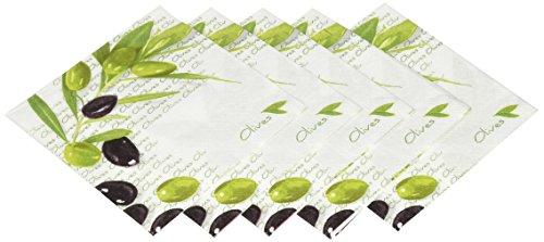 Paperproducts Design Design 5198Getränk Cocktail Serviette, 5von 12,7cm, italienische Oliven