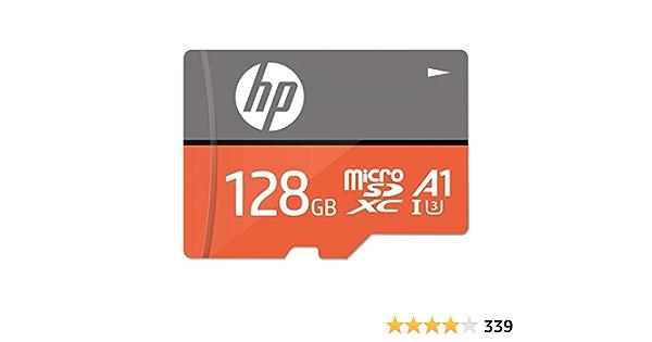 Hp Microsdxc U3 A1 High Speed Flash Memory Card 128gb Computers Accessories