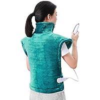 Preisvergleich für MaxKare Heizkissen für Rücken Schulter Nacken Abschaltautomatik Wärmekissen Heizschal und Schneller Heiztechnologie...